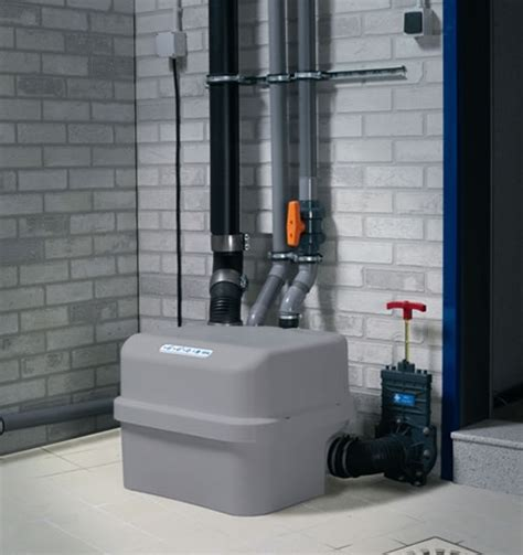 basement bathroom grinder pump top toilet 2011 abode