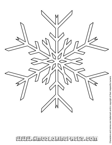 snowflake pictures to print snowflake print out az coloring pages