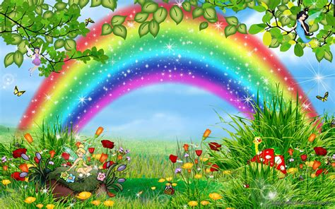 Beautiful Nature Rainbow Wallpaper   windows 10 Wallpapers