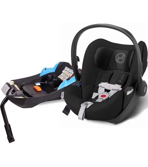 seat black cybex cloud q infant car seat black
