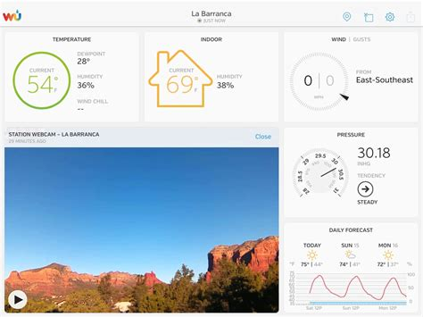 mobile wunderground ambient weather ambientcamhd outdoor wifi