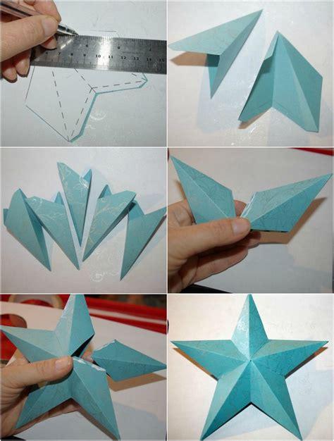 Sterne Basteln Aus Papierstreifen by Origami Falten Und Damit Zu Weihnachten Dekorieren