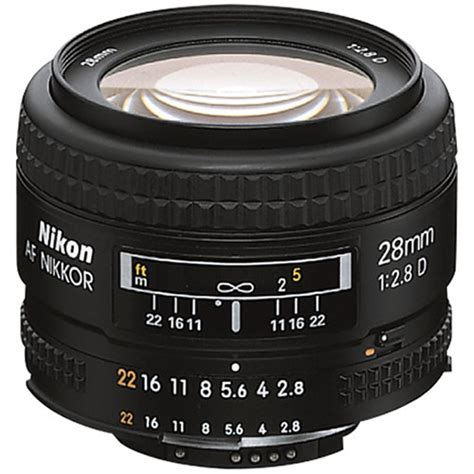 Lens Af 28 Mm F 2 8 D nikon af nikkor 28mm f 2 8d lens open box 1922 b h photo