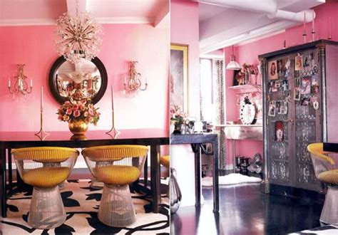 betsey johnson pink apartment freshome com betsey johnson s pink apartment in new york interiors by