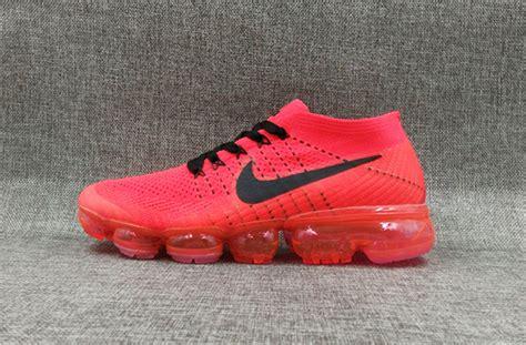 Nike Air Vapormax Be True Running Premium orange black mens nike air vapormax shoes