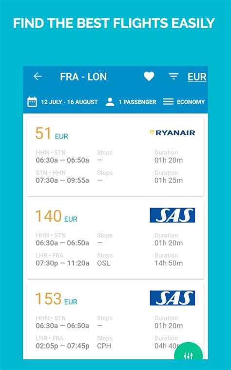 cheap flights android apps  google play