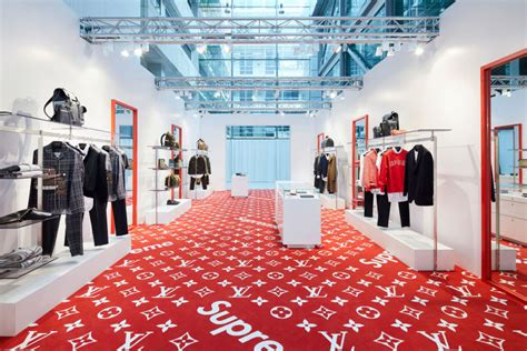 stores that sell supreme louis vuitton s supreme pop up store has arrived in