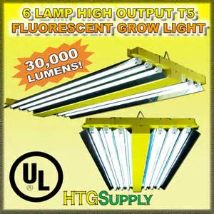 t12 ho l lumen output t5 ho fluorescent 4ft 6 l grow light x hydrofarm ebay