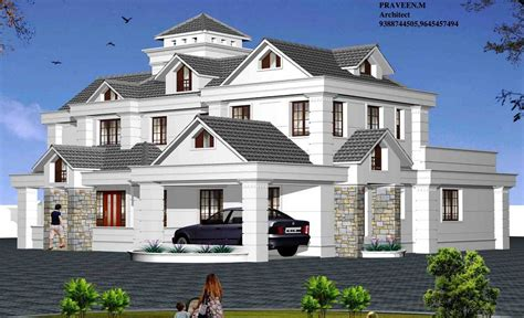 large family home plans big modern houses plans