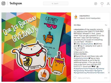 How To Word A Giveaway - how to use instagram giveaways to grow your following wordstream
