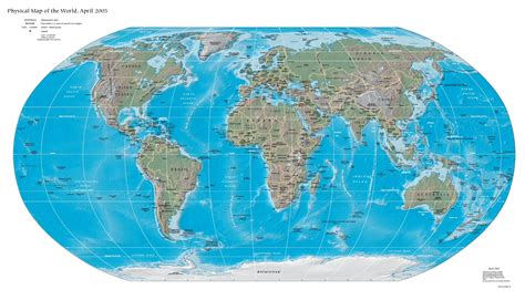 map of the world earth s 233 samo mapas maps physical map of the world