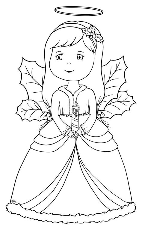 free printable coloring pages of angels free coloring pages of little angels drawings