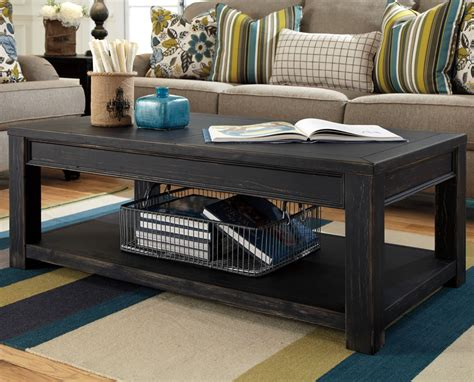 Rustic Black Coffee Table Furniture Chicago