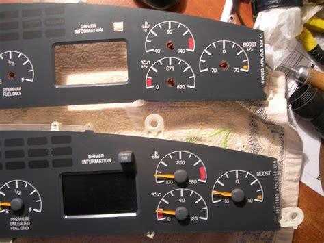 automotive repair manual 2000 pontiac bonneville instrument cluster instrument cluster swap on 95 bonneville ssei gm forum buick html autos weblog