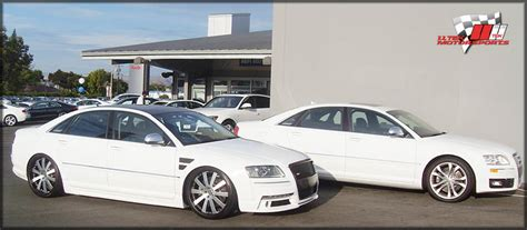 modified audi s8 kit styling and aftermarket tuning options for the