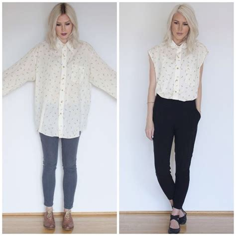 Kemeja Op 25 best ideas about shirt makeover on