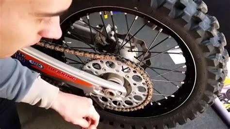 Motorrad Kette Montieren motorrad kettensatz wechseln und montieren