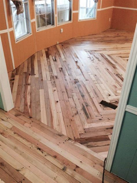 pallet flooring cheaper than wood diy