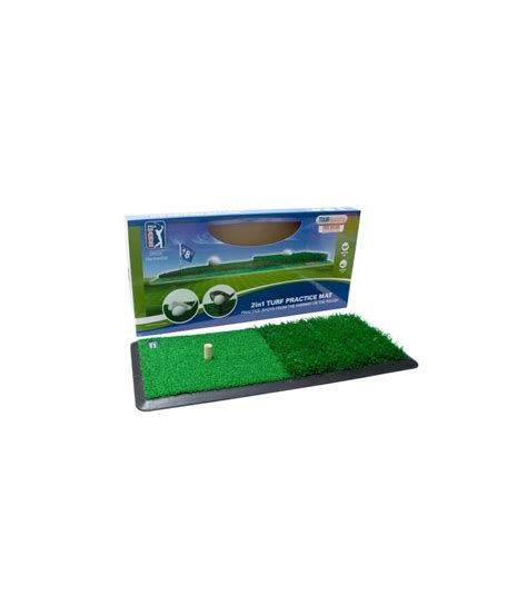 Golf Practice Mats Reviews by Pga Tour 2 In 1 Practice Mat