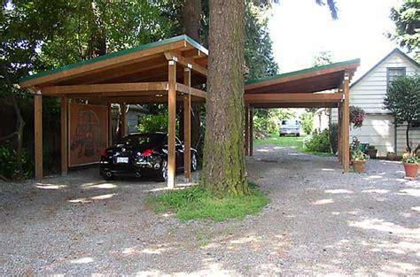 Shed Roof Carport shed roof carport plans plans free