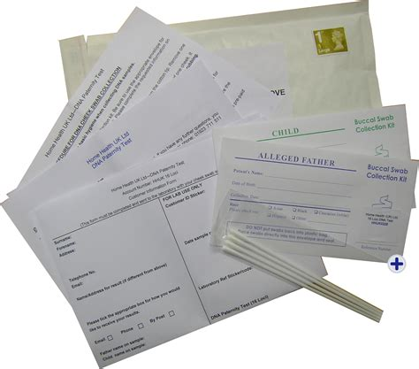 home paternity dna postal pack test