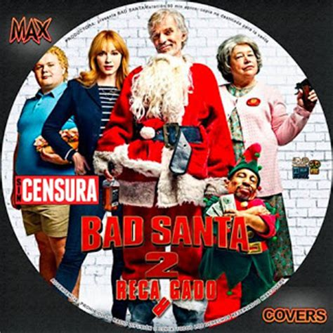 Bad Dvd Original maxcovers dvd gratis bad santa 2 2016 dvd cover