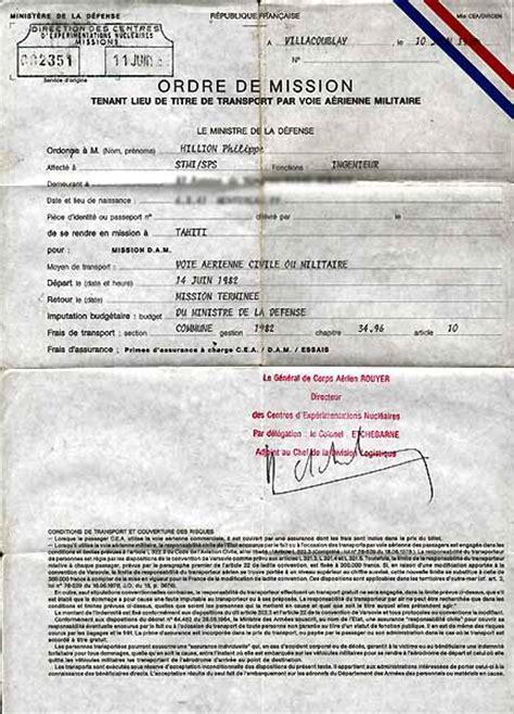 Lettre De Mission Visa Algerie exemple ordre de mission en anglais document