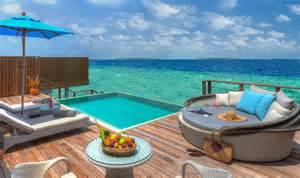 Standard Size Of Bathtub Ocean Villa With Pool Dusit Thani Maldives