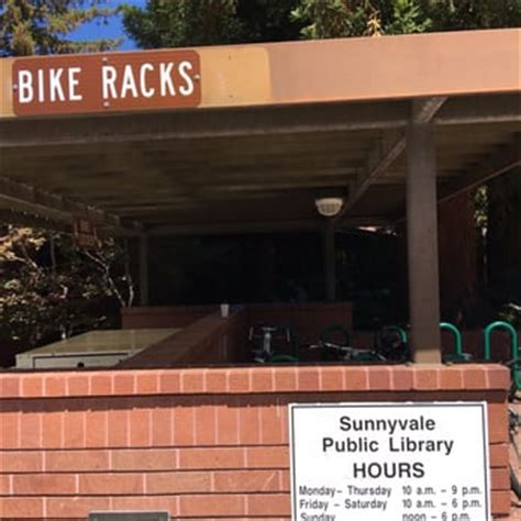 Racks Hours by Sunnyvale Library 146 Photos 138 Reviews