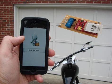 Electric Garage Door Remote by Electric Imp Garage Door Opener Hacked Gadgets Diy