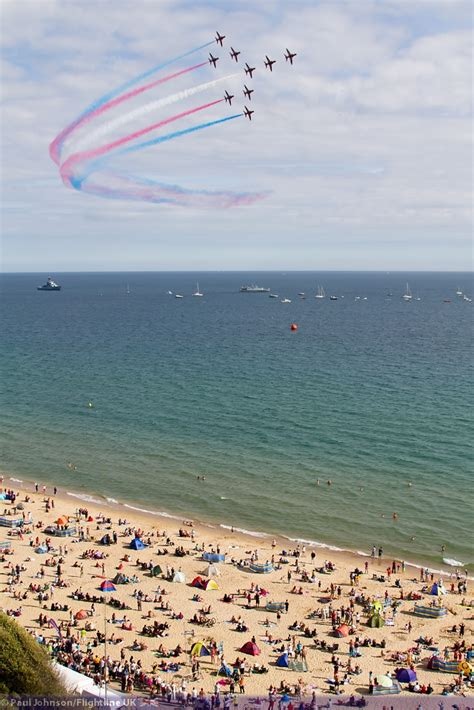 airshow news  bournemouth air festival takes  uk airshow information  photography