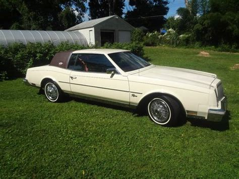 auto air conditioning service 1987 buick riviera free book repair manuals buy used 1981 buick riviera 56k orig mi tan w burgundy leather 5 0 v8 garaged nr in
