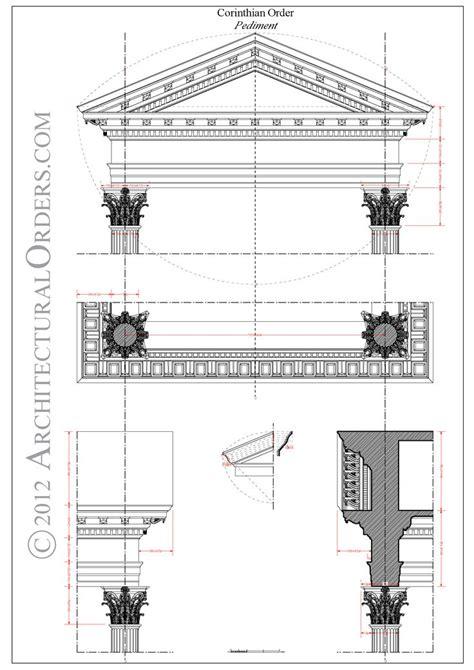 Architectural Pediment Design 17 Best Images About Composite Order Architectural Details On Programs