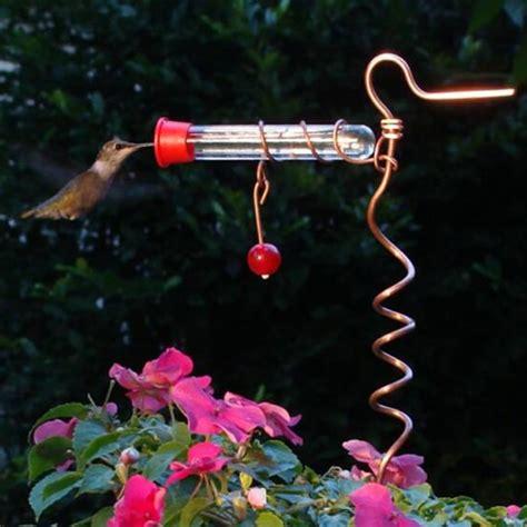 duncraft com flower pot hummingbird feeder