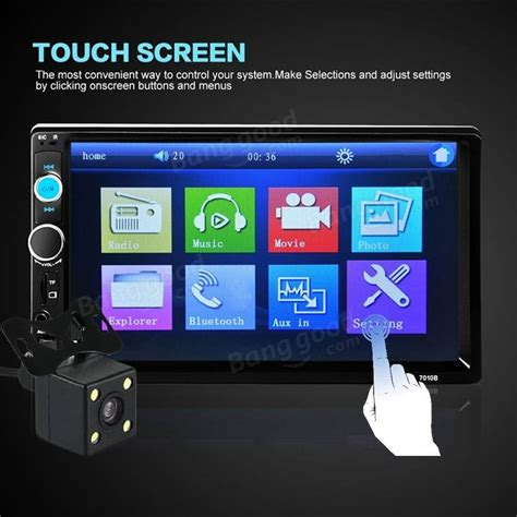Touch Touchscreen Cina 3 5 Inch 701308 imars 7010b 7 inch car stereo radio mp5 player fm usb aux hd bluetooth touch screen rear view