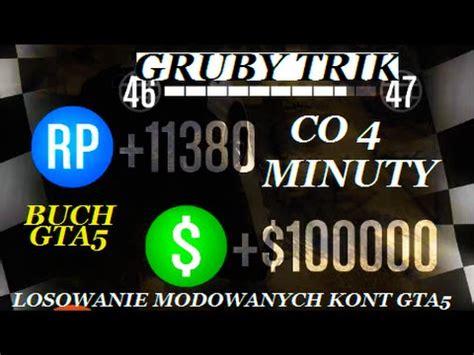 ☆gta 5 solo gruby trik na kasĘ i rp☆ 100000$i12000rp co
