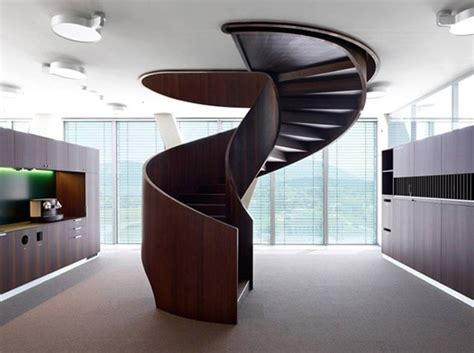 Helical Stairs Design Spiral Staircase Design Ideas