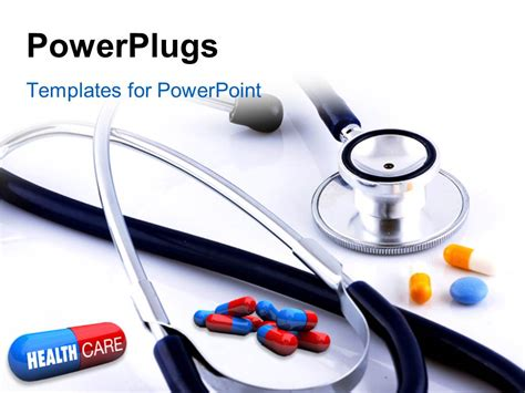 powerpoint health templates powerpoint template up of some pills with one
