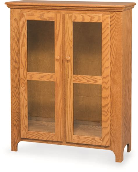 linen closet with glass doors amish valley products