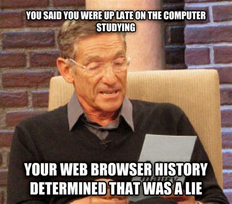 Maury Povich Meme - maury lie detector know your meme
