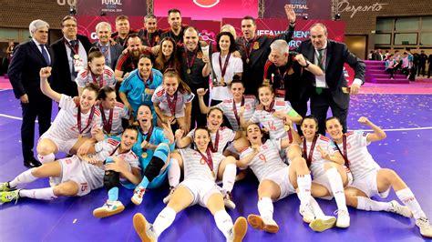 futbol sala femenino espa a f 250 tbol sala femenino espa 241 a primera ceona de europa