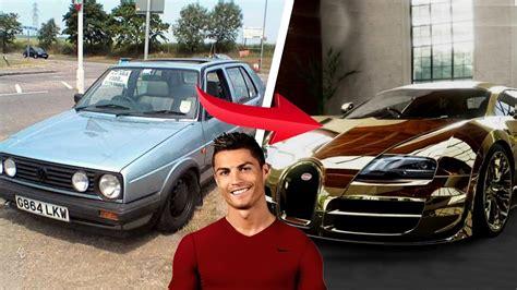 Ronaldo Teuerstes Auto by 10 Fu 223 Baller Autos Damals Jetzt Ft Ronaldo Messi