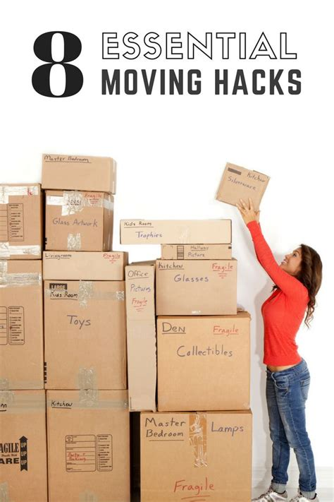 moving hacks 8 essential moving hacks to make your life easier