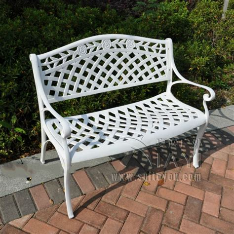 aluminum outdoor bench popular aluminum park bench buy cheap aluminum park bench