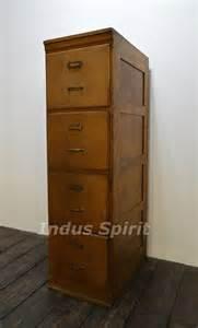 meuble classeur bois ancien classeur en bois