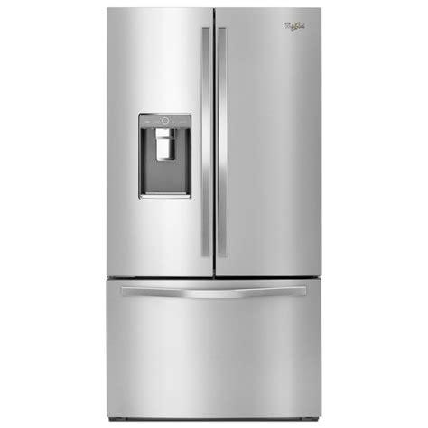 shop whirlpool 31 5 cu ft door refrigerator with