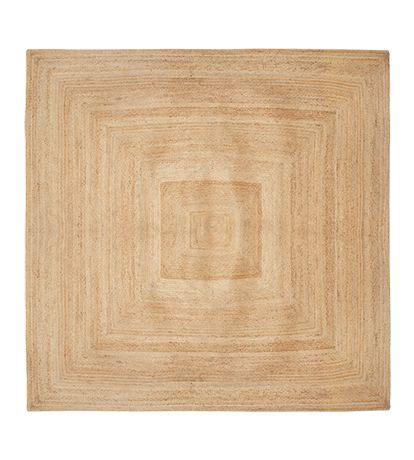 square jute rug jute braided square rug