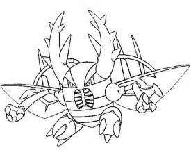 mega coloring pages free coloring pages of mega gengar