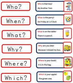 le auf englisch exercises wh questions