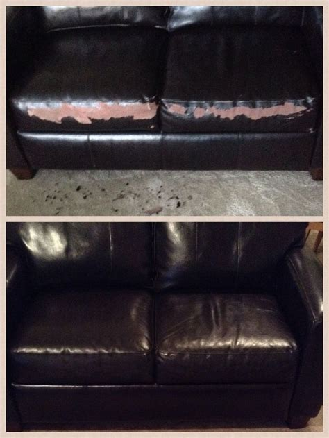 pleather couch repair pinterest the world s catalog of ideas